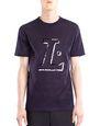 "LANVIN Polos & T-Shirts Man BLACK ""L"" T-SHIRT f"
