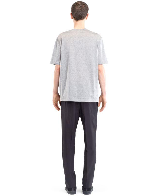 LANVIN CHECKERED PATCHWORK T-SHIRT Polos & T-Shirts U d