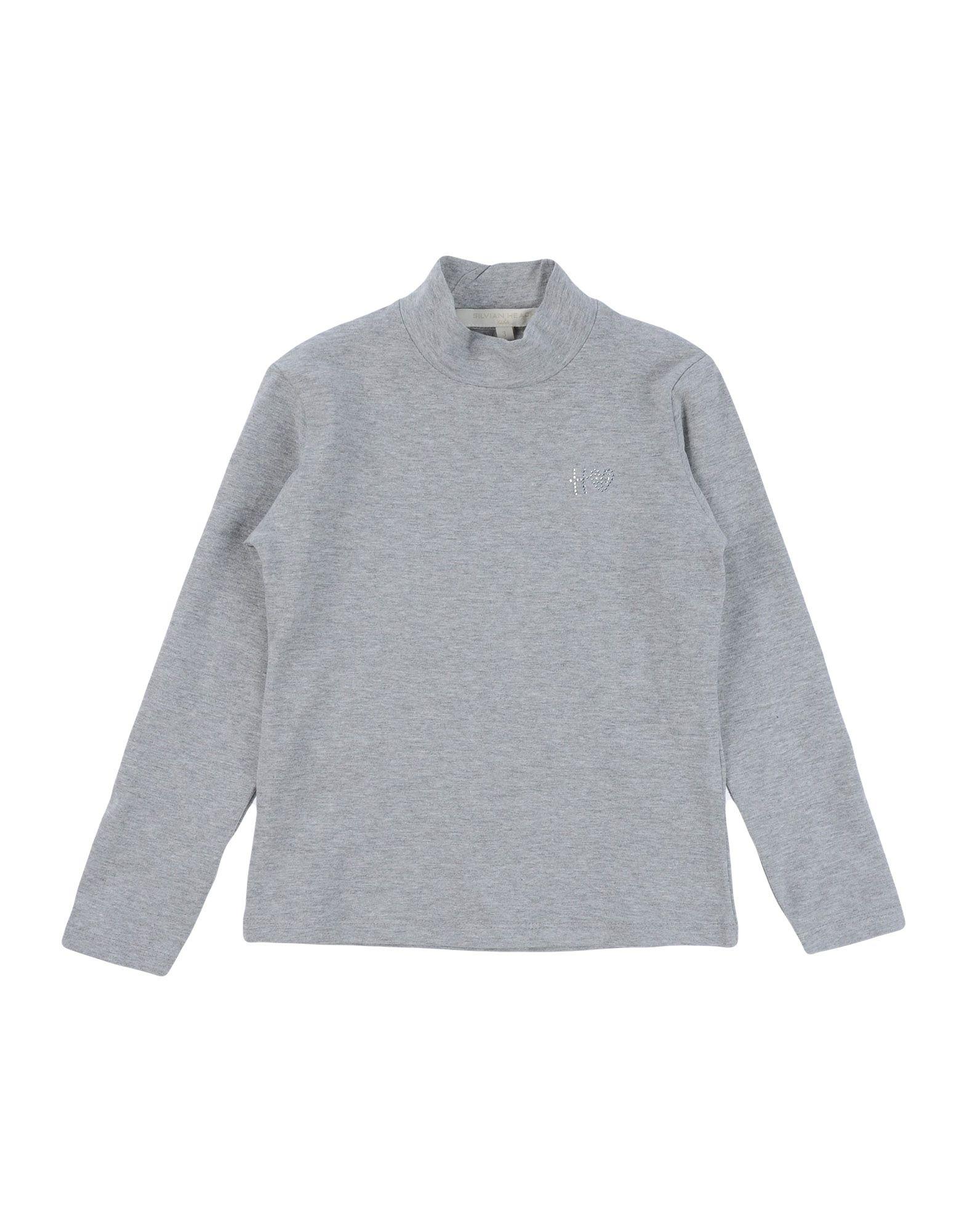 Silvian Heach Kids' T-shirts In Gray