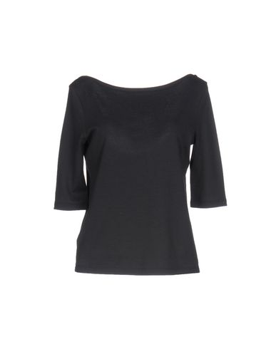 PRADA SPORT T-shirt femme. jersey, uni, col rond, manches 3/4, logo, sans poche