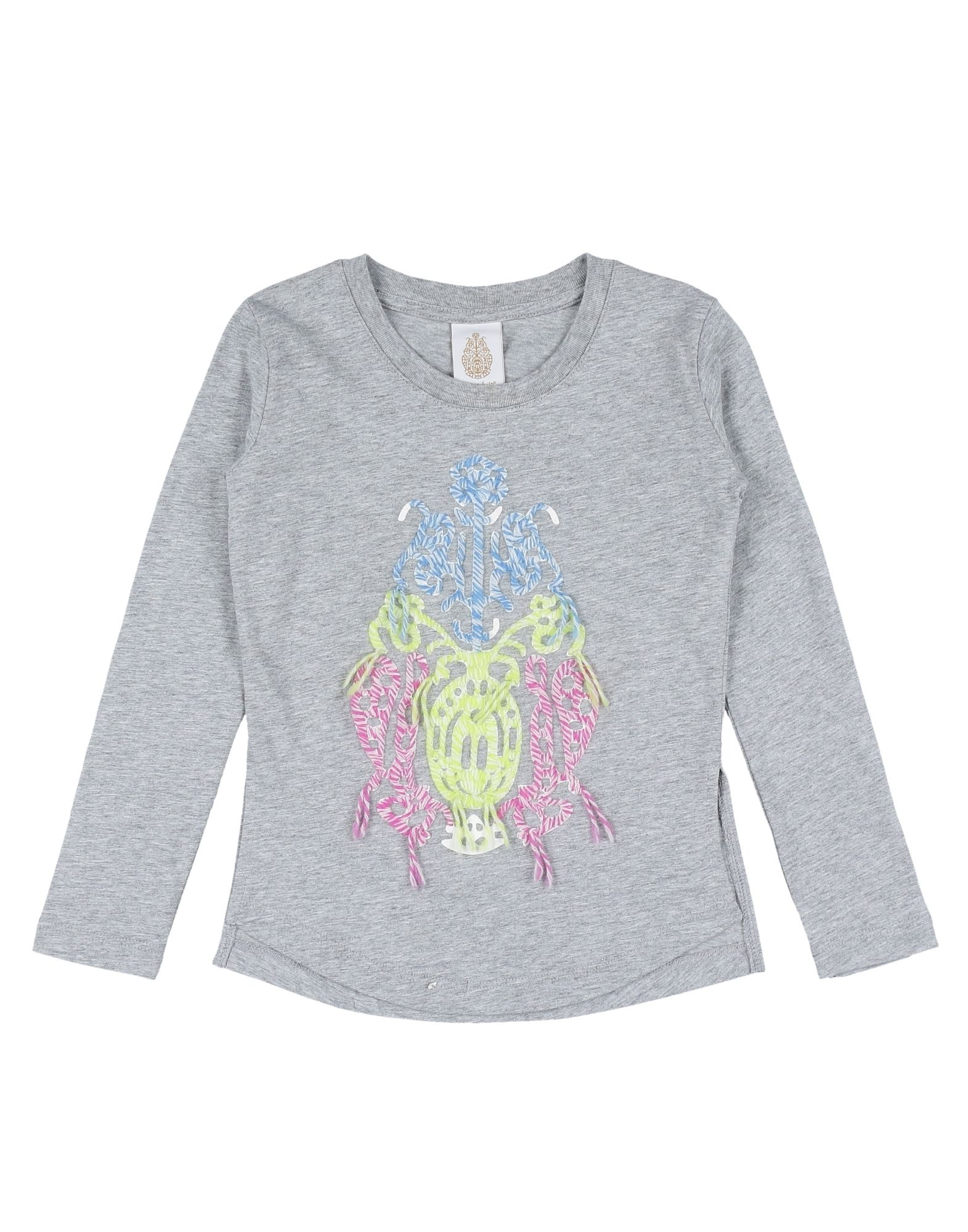 DONDUP DQUEEN Mädchen 3-8 jahre T-shirts Farbe Hellgrau Größe 2