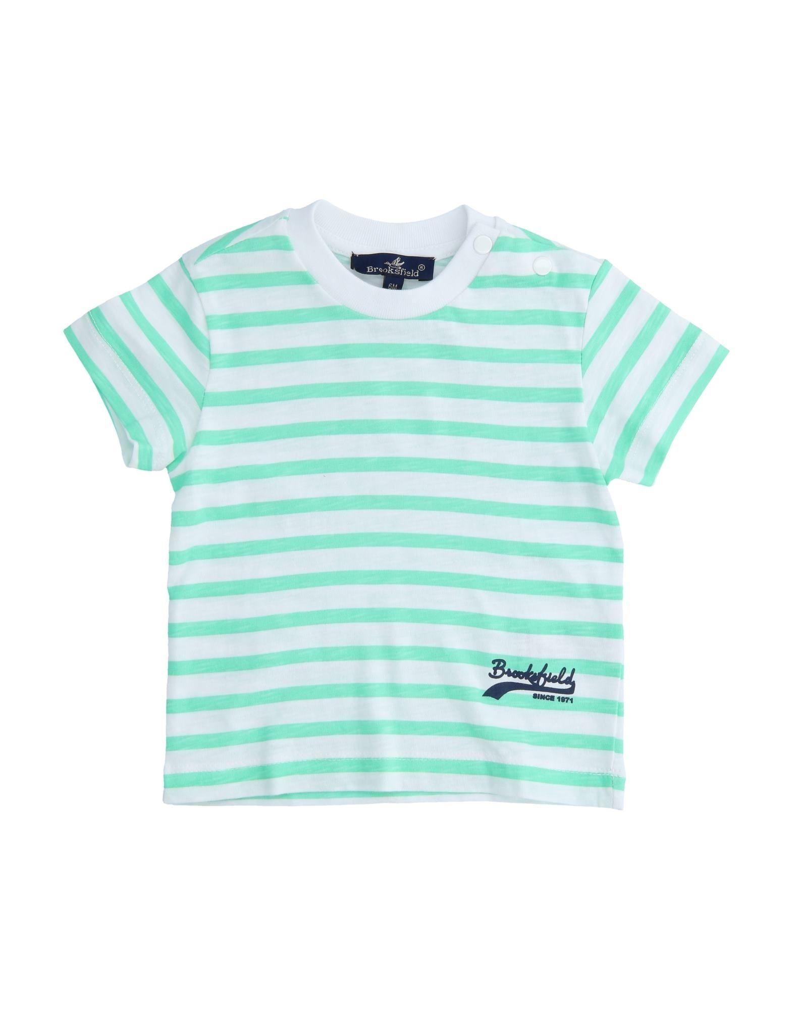 Brooksfield Kids' T-shirts In Green