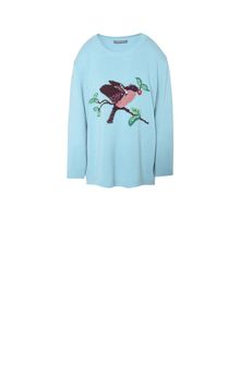 ALBERTA FERRETTI GOODMORNING SWEATER KNITWEAR Woman d