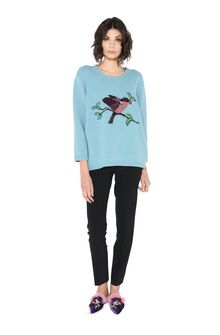 ALBERTA FERRETTI GOODMORNING SWEATER KNITWEAR Woman f