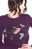 ALBERTA FERRETTI BIRD SWEATER KNITWEAR Woman a