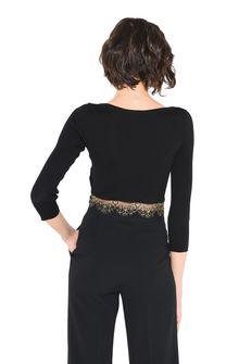 ALBERTA FERRETTI TOWER CROP TOP Cropped jumper D d