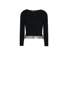 ALBERTA FERRETTI TOWER CROP TOP Cropped jumper Woman e