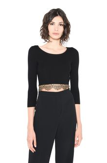 ALBERTA FERRETTI TOWER CROP TOP Cropped jumper Woman r