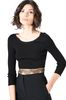 ALBERTA FERRETTI TOWER CROP TOP Cropped jumper Woman a