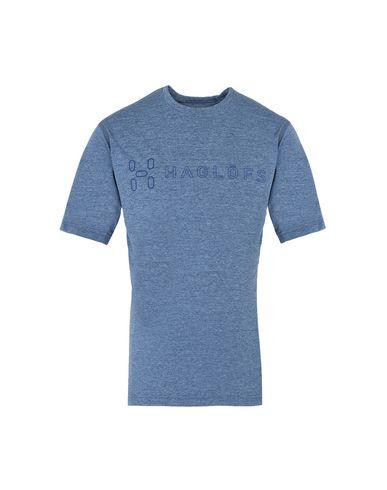 Фото - Женскую футболку HAGLÖFS грифельно-синего цвета