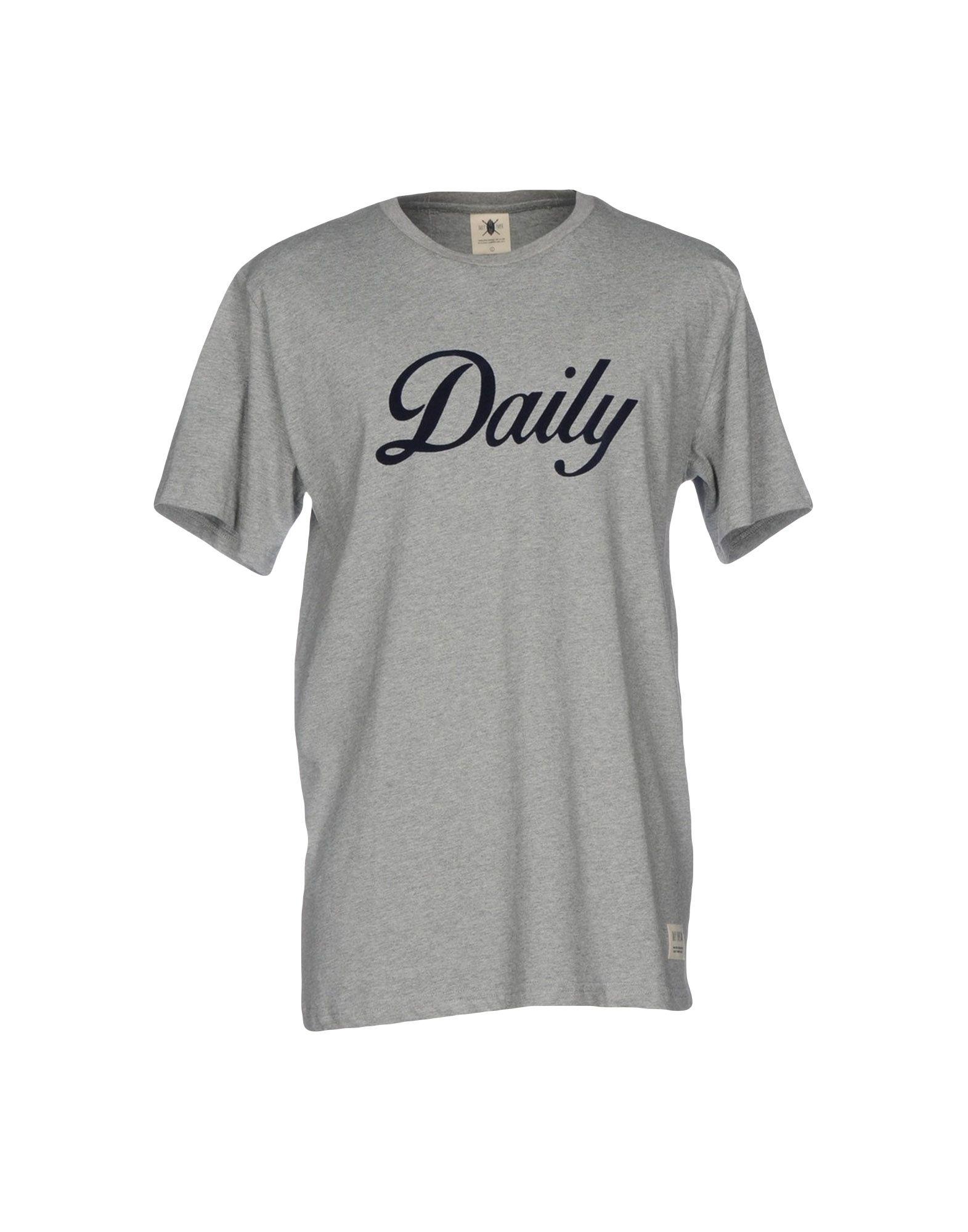 《送料無料》DAILY PAPER メンズ T シャツ グレー S コットン 100%