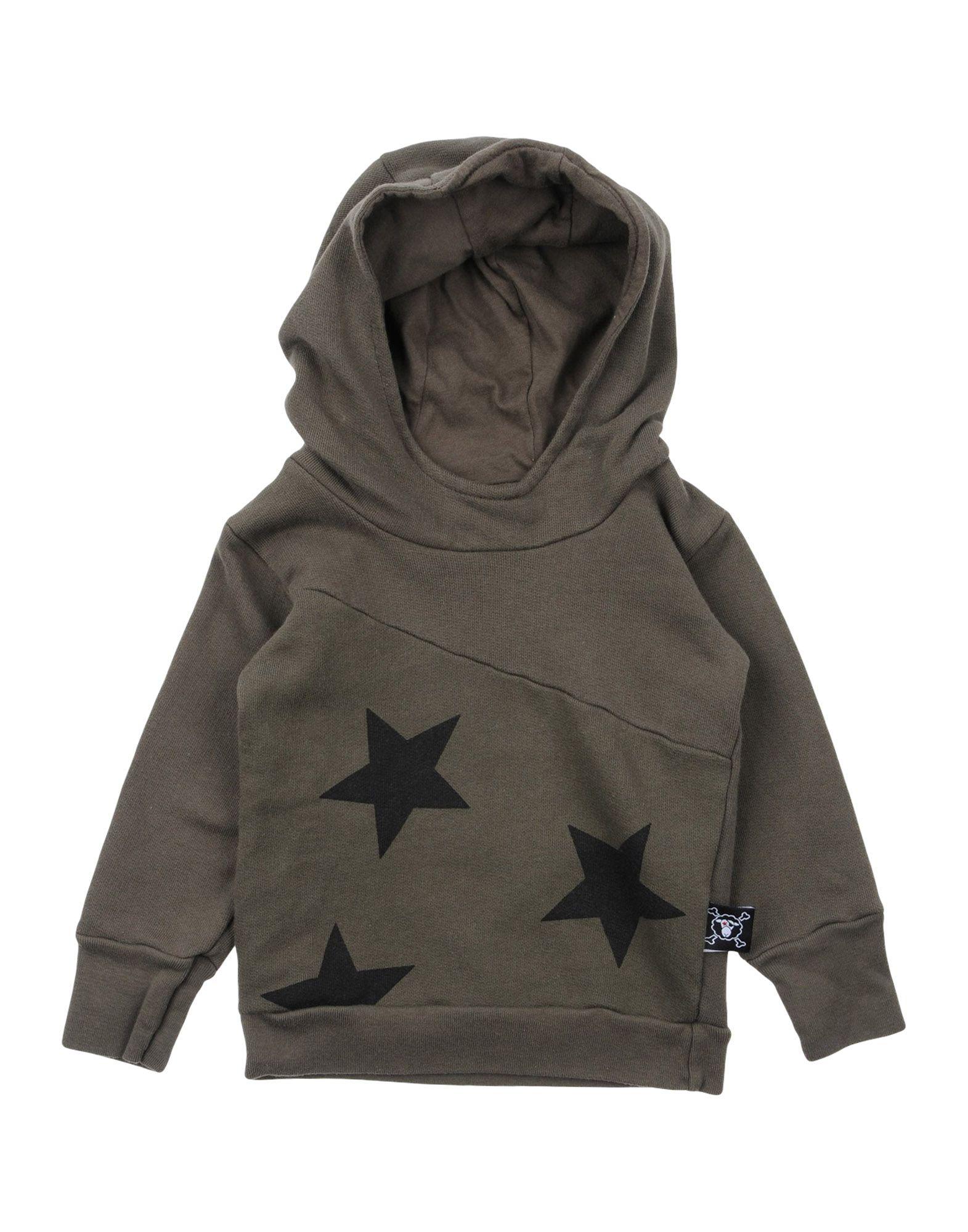 NUNUNU Mädchen 0-24 monate Sweatshirt Farbe Militärgrün Größe 6
