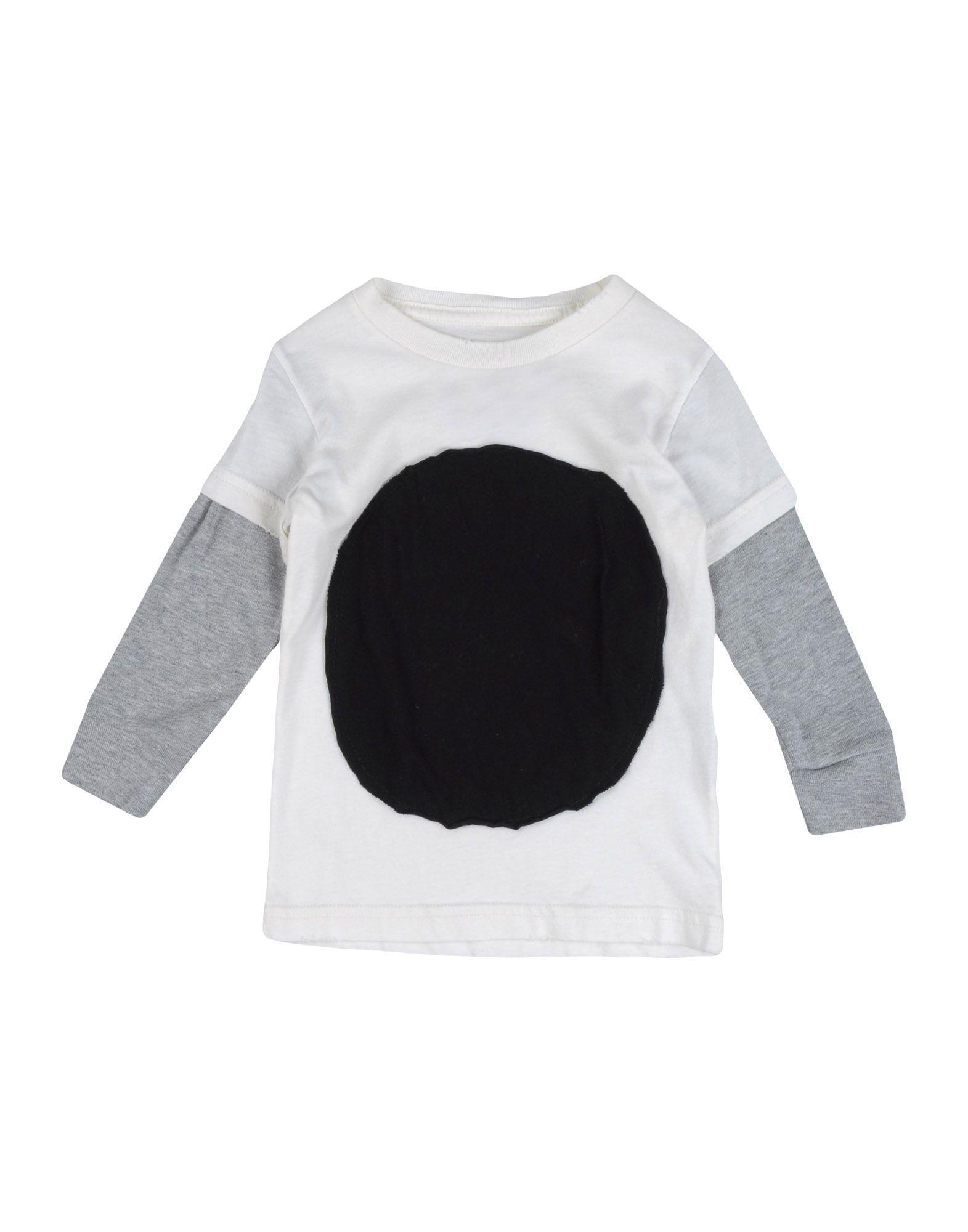 NUNUNU Mädchen 0-24 monate T-shirts Farbe Weiß Größe 4