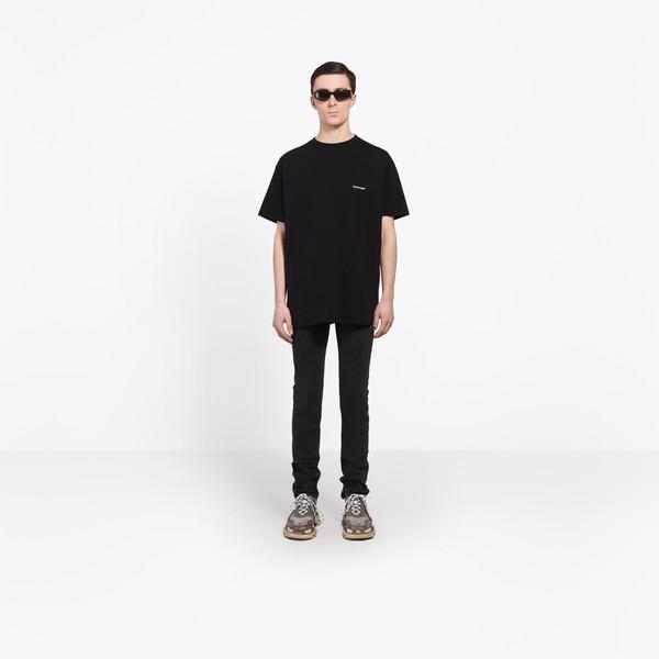 """BALENCIAGA Top U Oversize Tshirt """"Balenciaga®"""" g"""