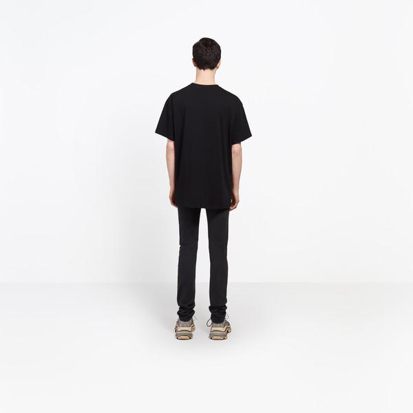 """BALENCIAGA Top U Oversize Tshirt """"Balenciaga®"""" h"""