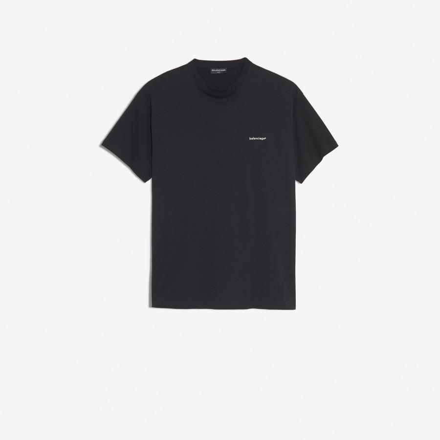 "BALENCIAGA Oversize Tshirt ""Balenciaga®"" Top U f"