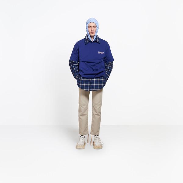 """BALENCIAGA Top Man Oversize Tshirt """"Balenciaga"""" g"""