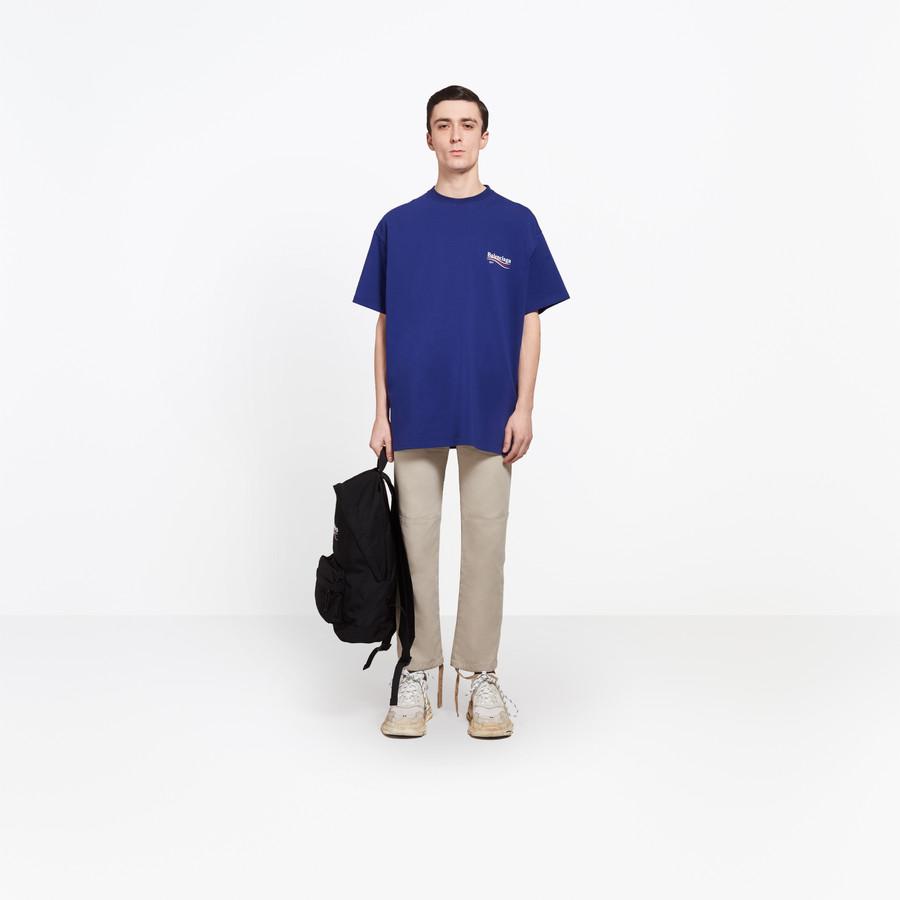 """BALENCIAGA Oversize Tshirt """"Balenciaga"""" Top Man d"""