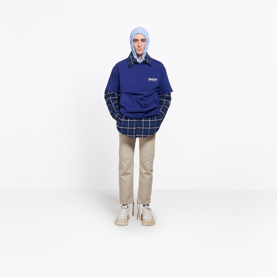 """BALENCIAGA Oversize Tshirt """"Balenciaga"""" Top Man f"""