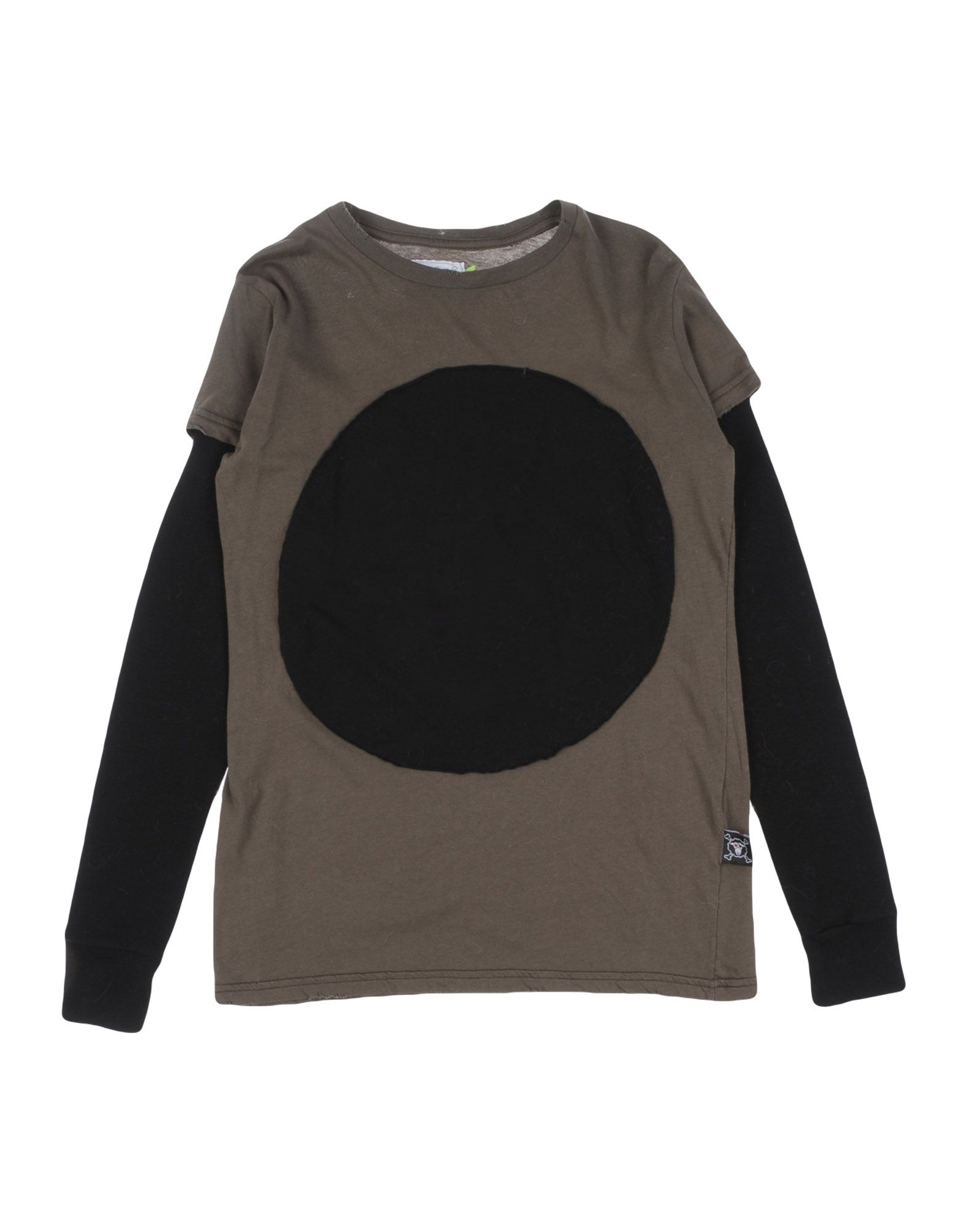 NUNUNU Mädchen 9-16 jahre T-shirts Farbe Militärgrün Größe 4