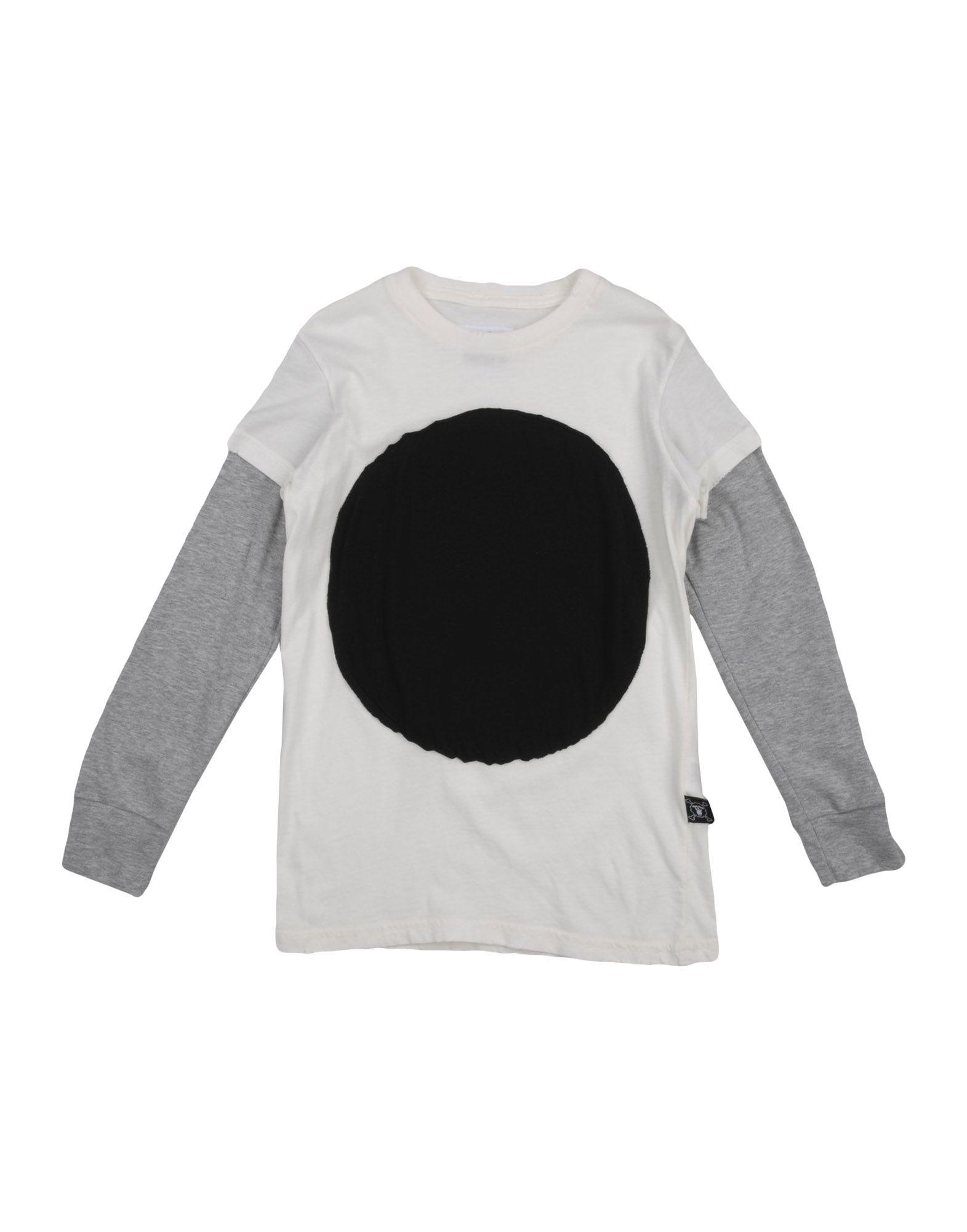 NUNUNU Mädchen 3-8 jahre T-shirts Farbe Weiß Größe 4