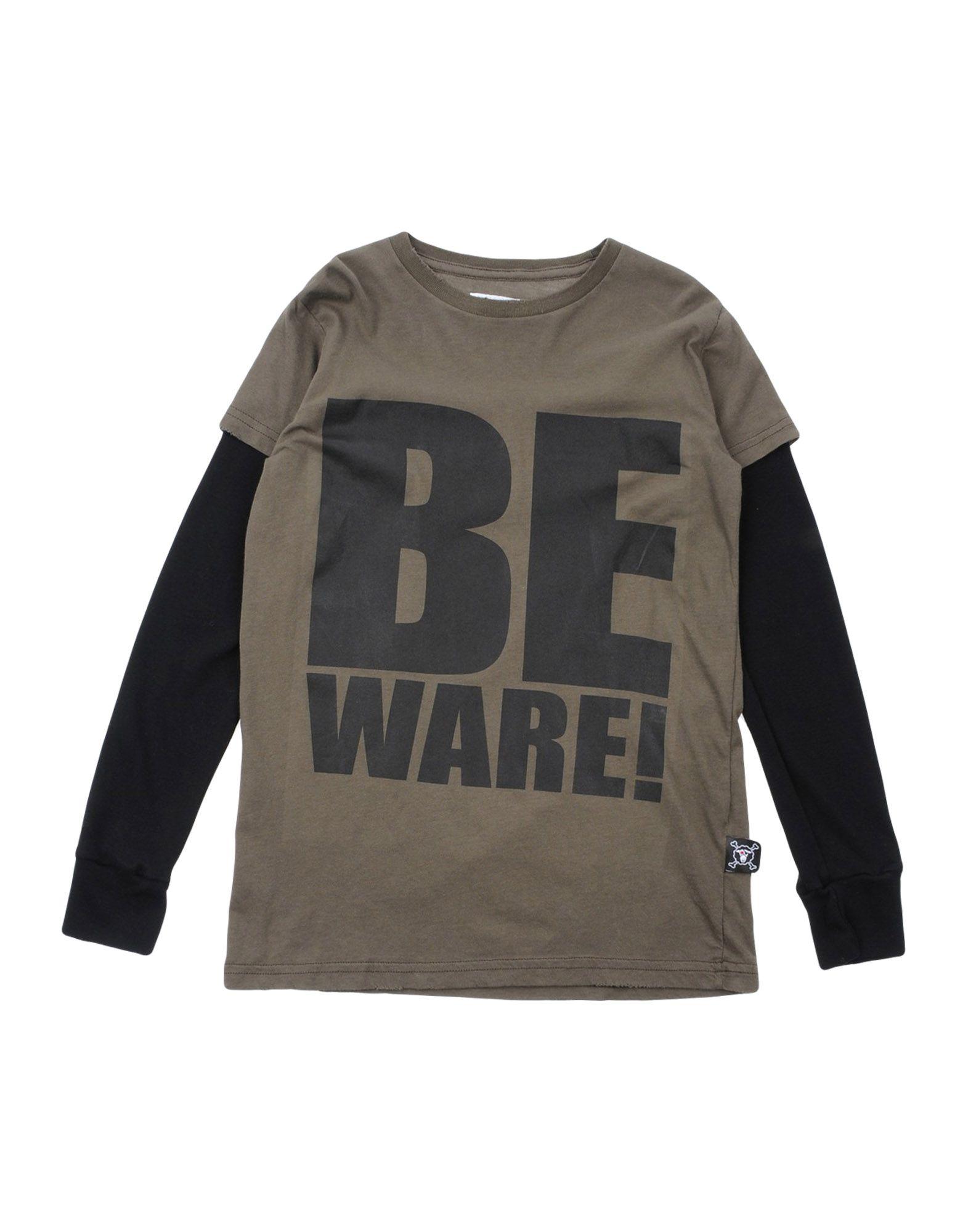 NUNUNU Mädchen 3-8 jahre T-shirts Farbe Militärgrün Größe 6