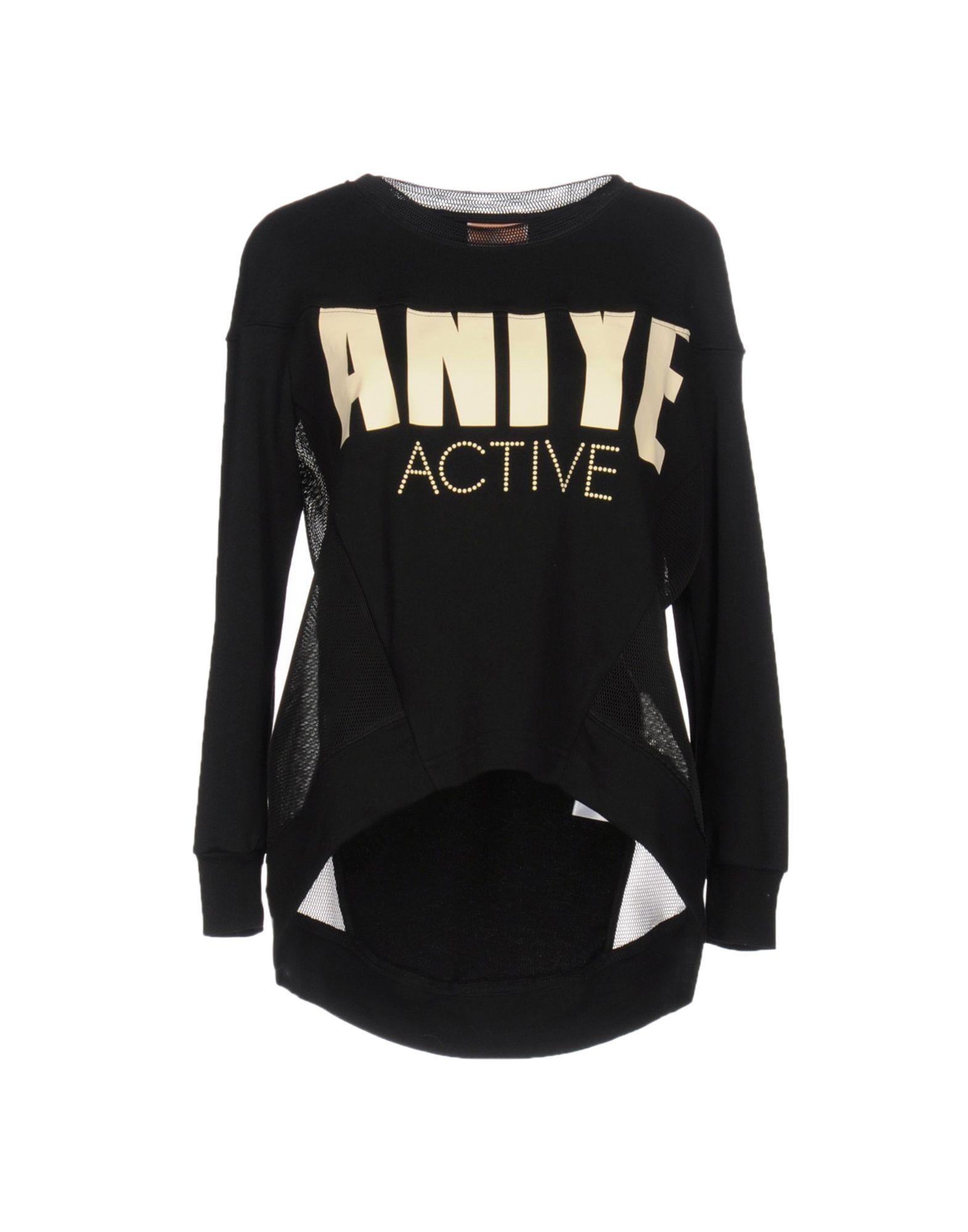 ANIYE BY Damen Sweatshirt Farbe Schwarz Größe 4