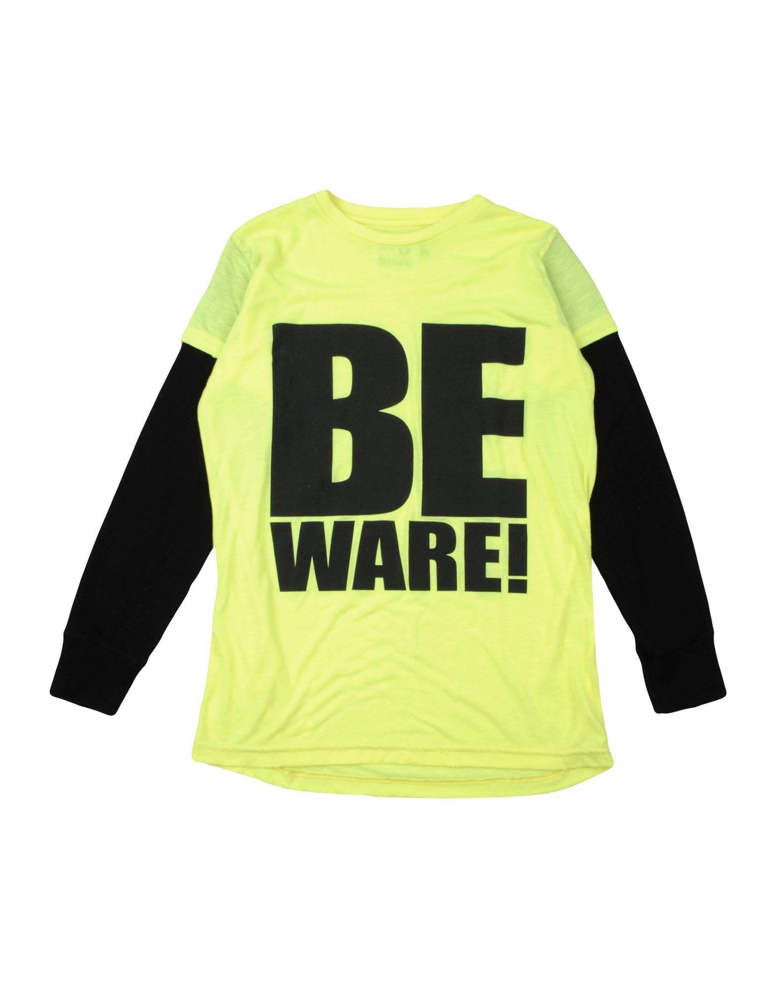 NUNUNU Mädchen 9-16 jahre T-shirts Farbe Gelb Größe 2