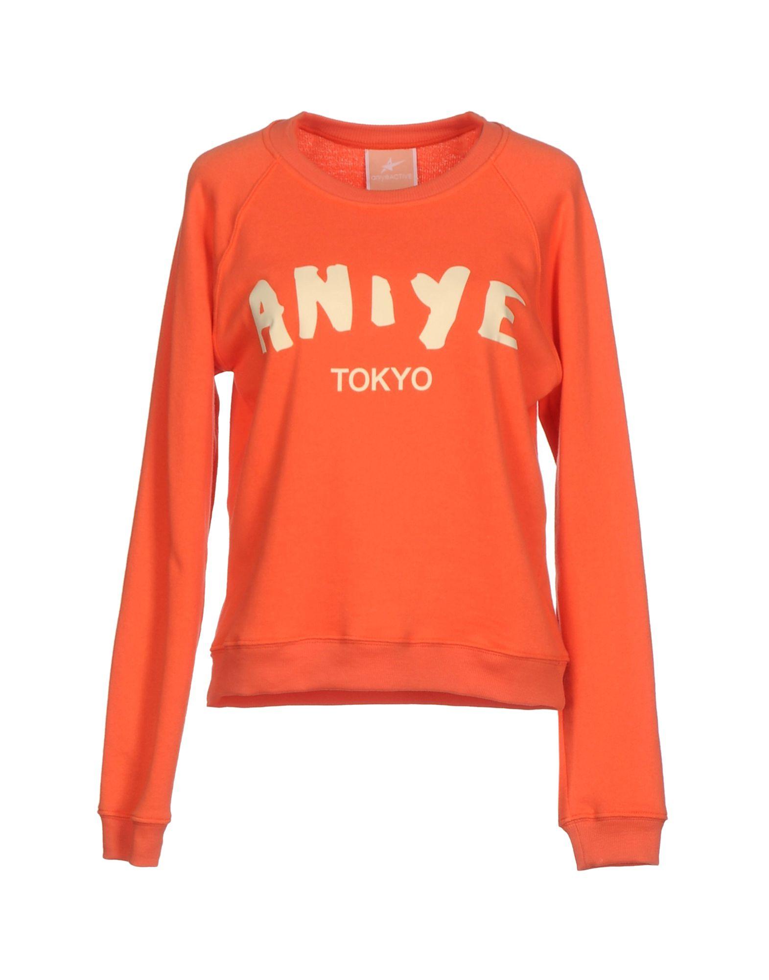 ANIYE BY Damen Sweatshirt Farbe Rot Größe 6