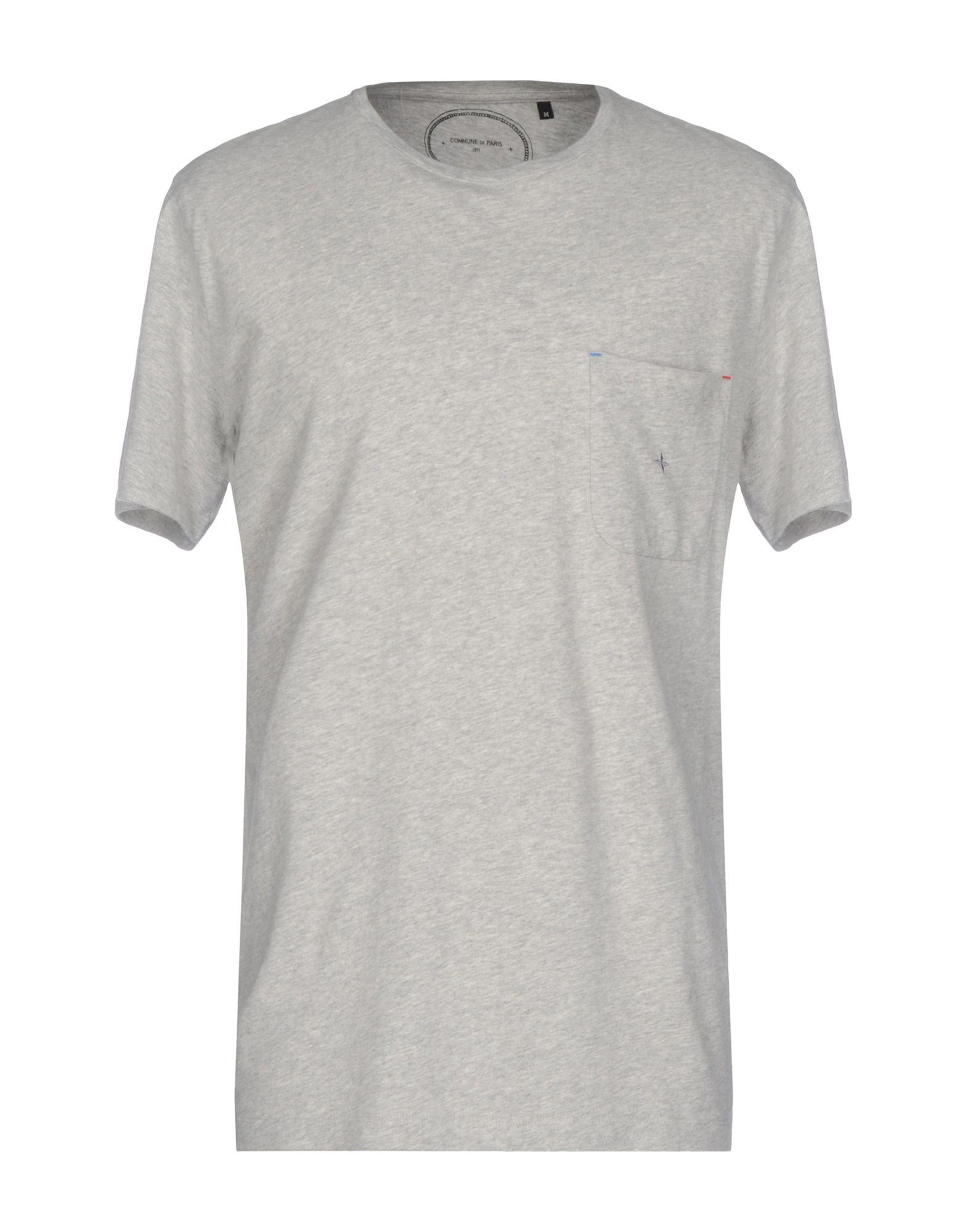 COMMUNE DE PARIS 1871 T-Shirts in Grey