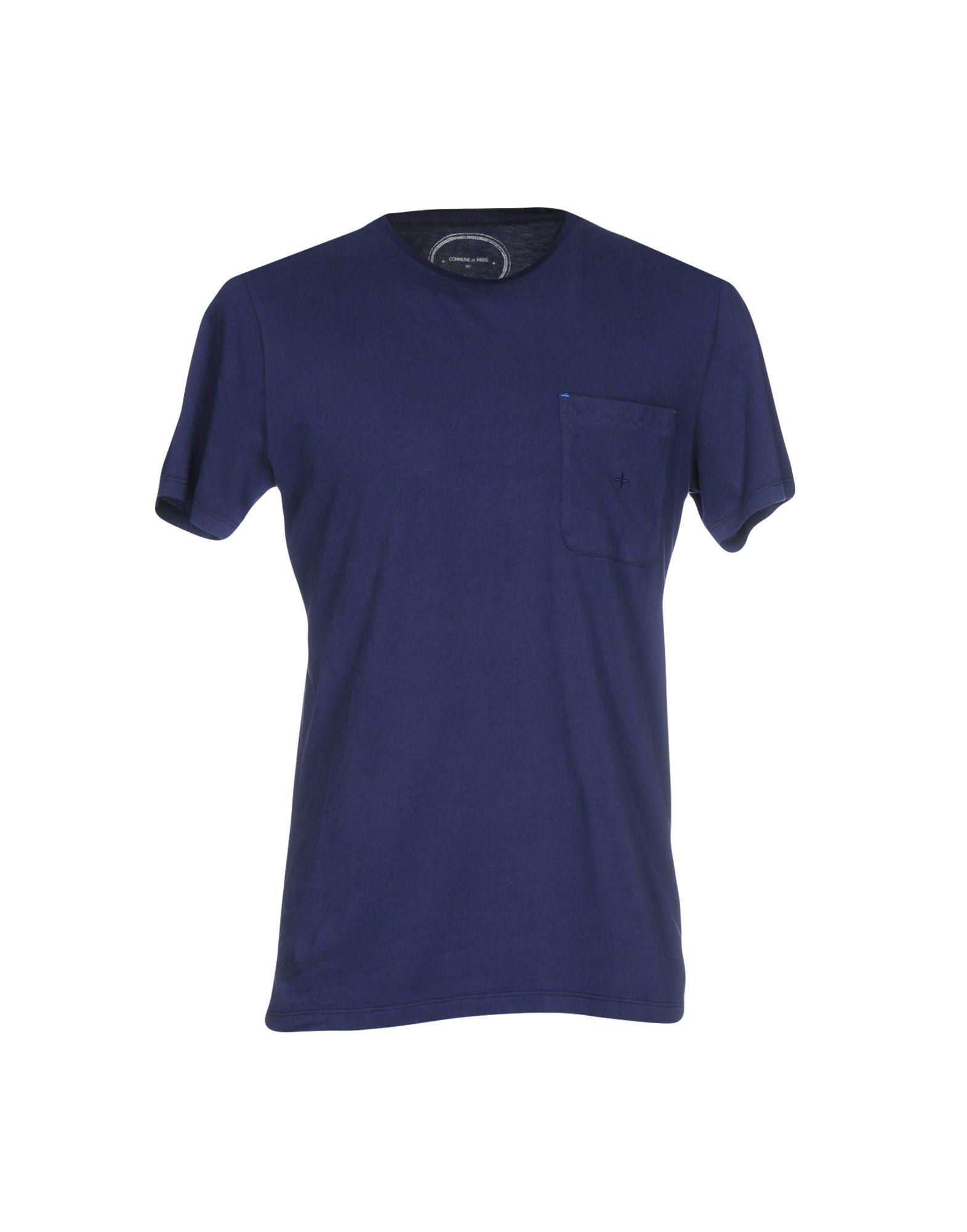COMMUNE DE PARIS 1871 T-Shirts in Blue