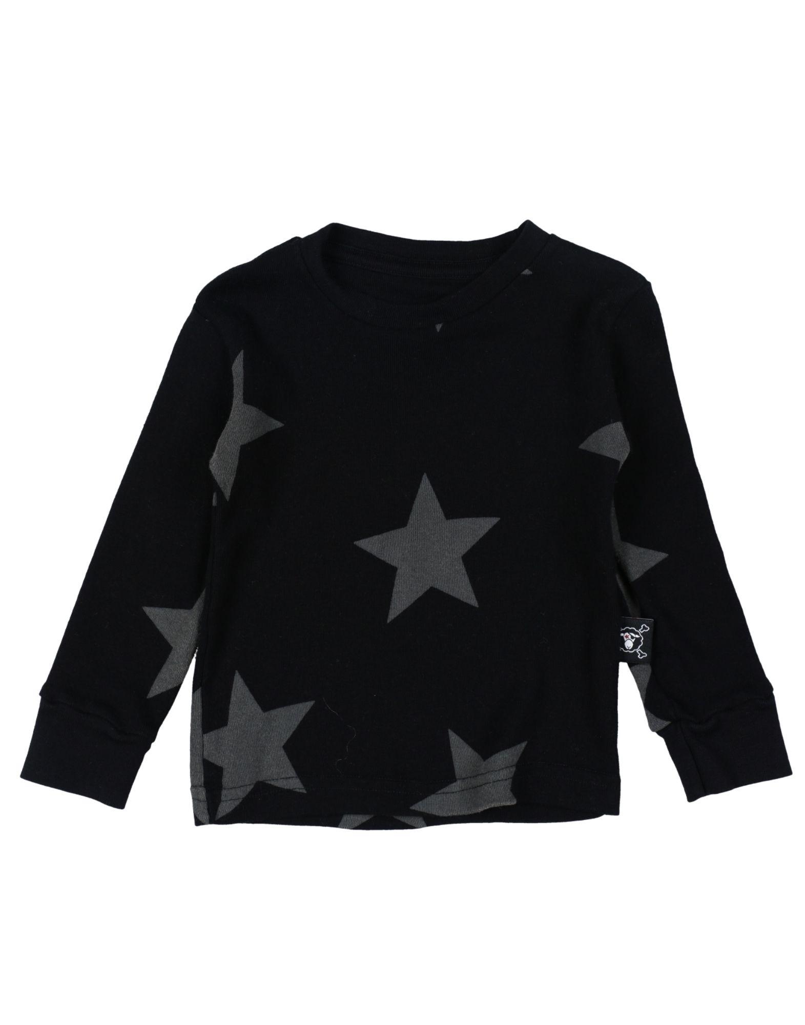 NUNUNU Jungen 0-24 monate T-shirts Farbe Schwarz Größe 4