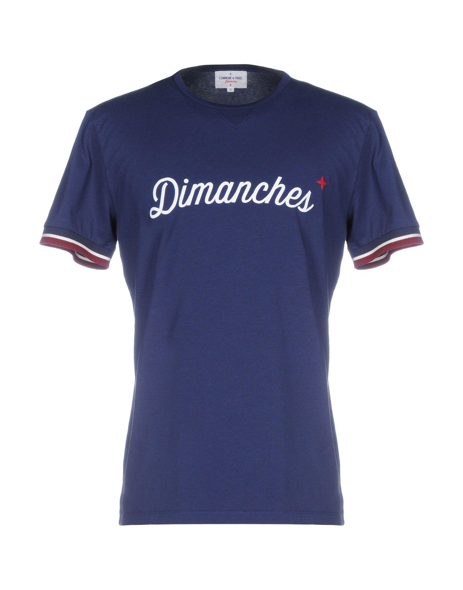 COMMUNE DE PARIS 1871 + DIMANCHES Футболка commune de paris 1871 dimanches джинсовая рубашка