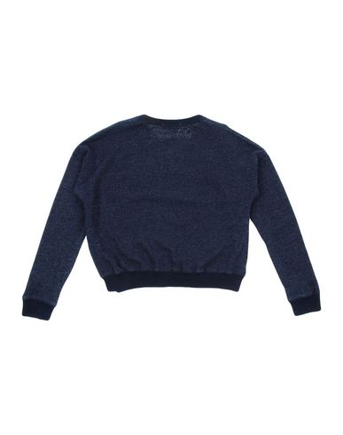 TWIN-SET Simona Barbieri Mädchen Sweatshirt Dunkelblau Größe 10 100% Baumwolle