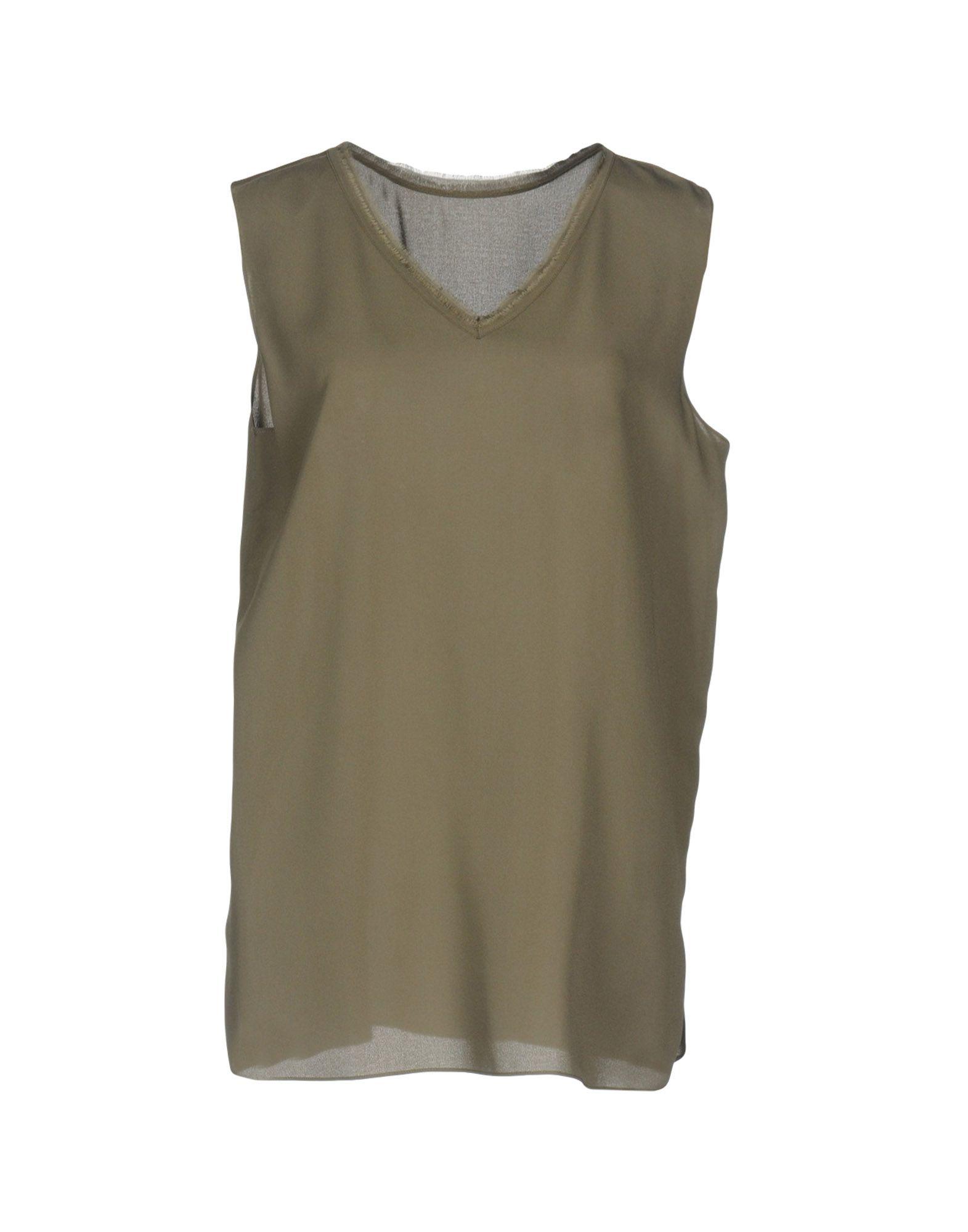 IRIS VAN HERPEN Silk Top in Grey
