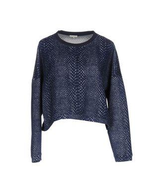 MANOUSH Damen Sweatshirt Farbe Dunkelblau Größe 5