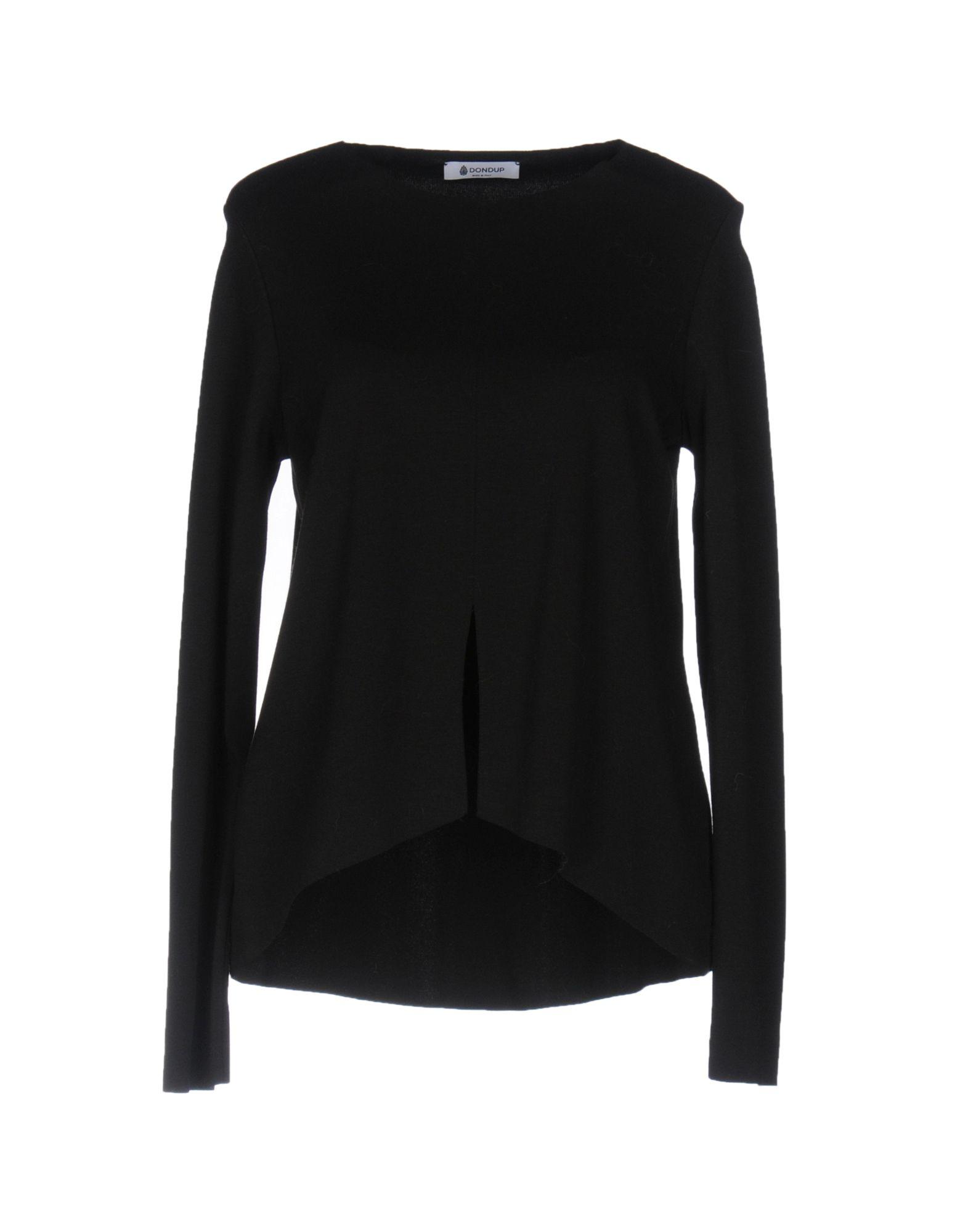 DONDUP Damen Sweatshirt Farbe Schwarz Größe 3