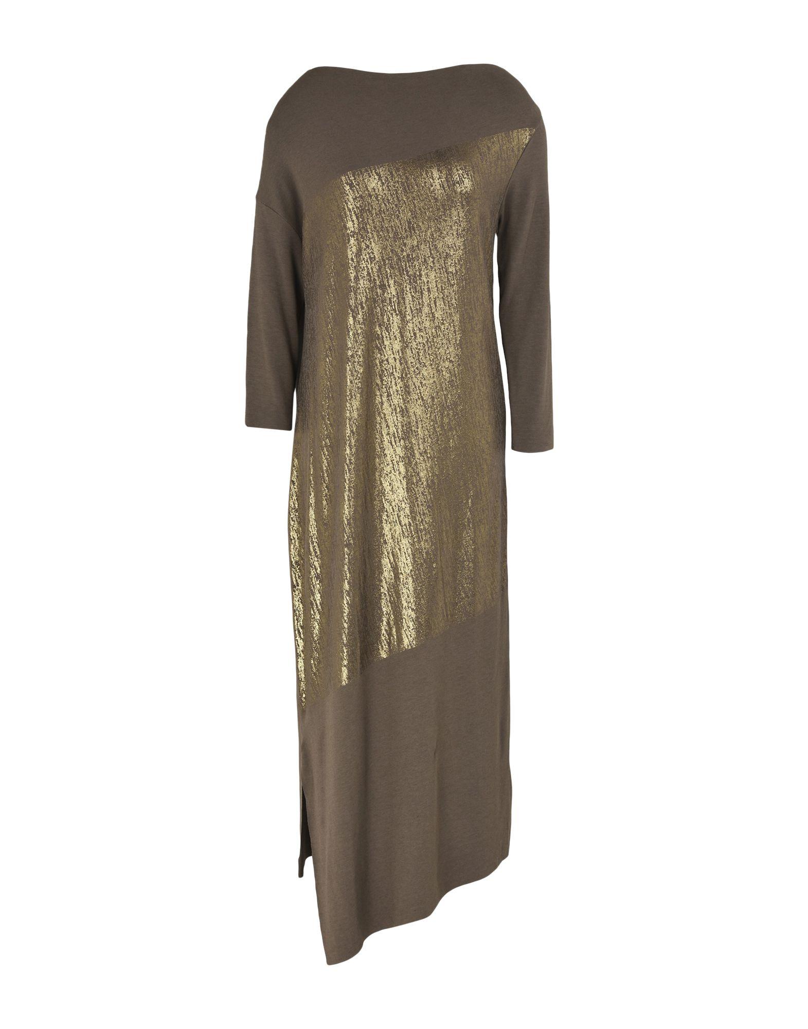 YPNO Платье длиной 3/4 lisa corti платье длиной 3 4