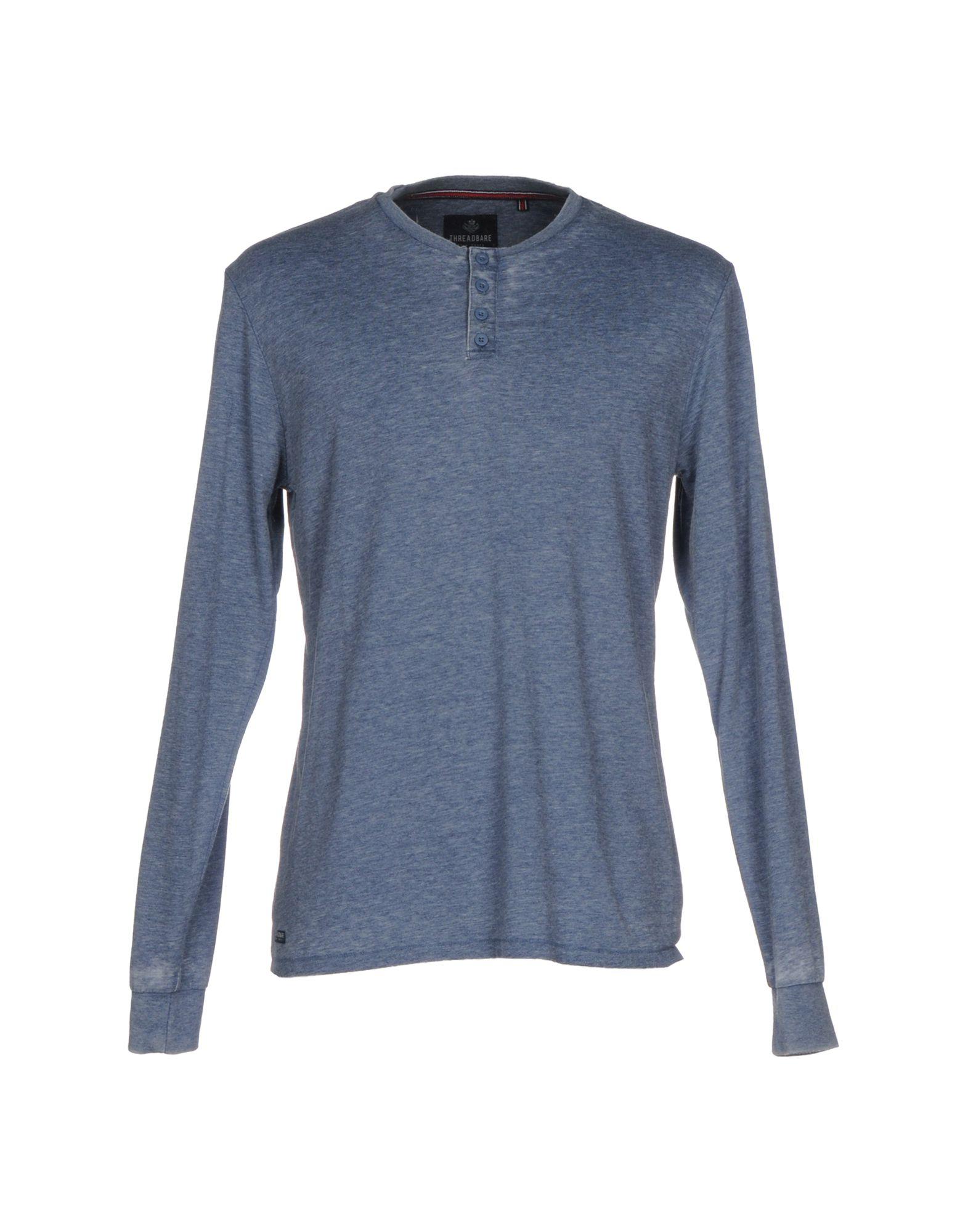 THREADBARE Herren T-shirts Farbe Blau Größe 7