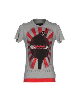 PHILIPP PLEIN Herren T-shirts Farbe Hellgrau Größe 4
