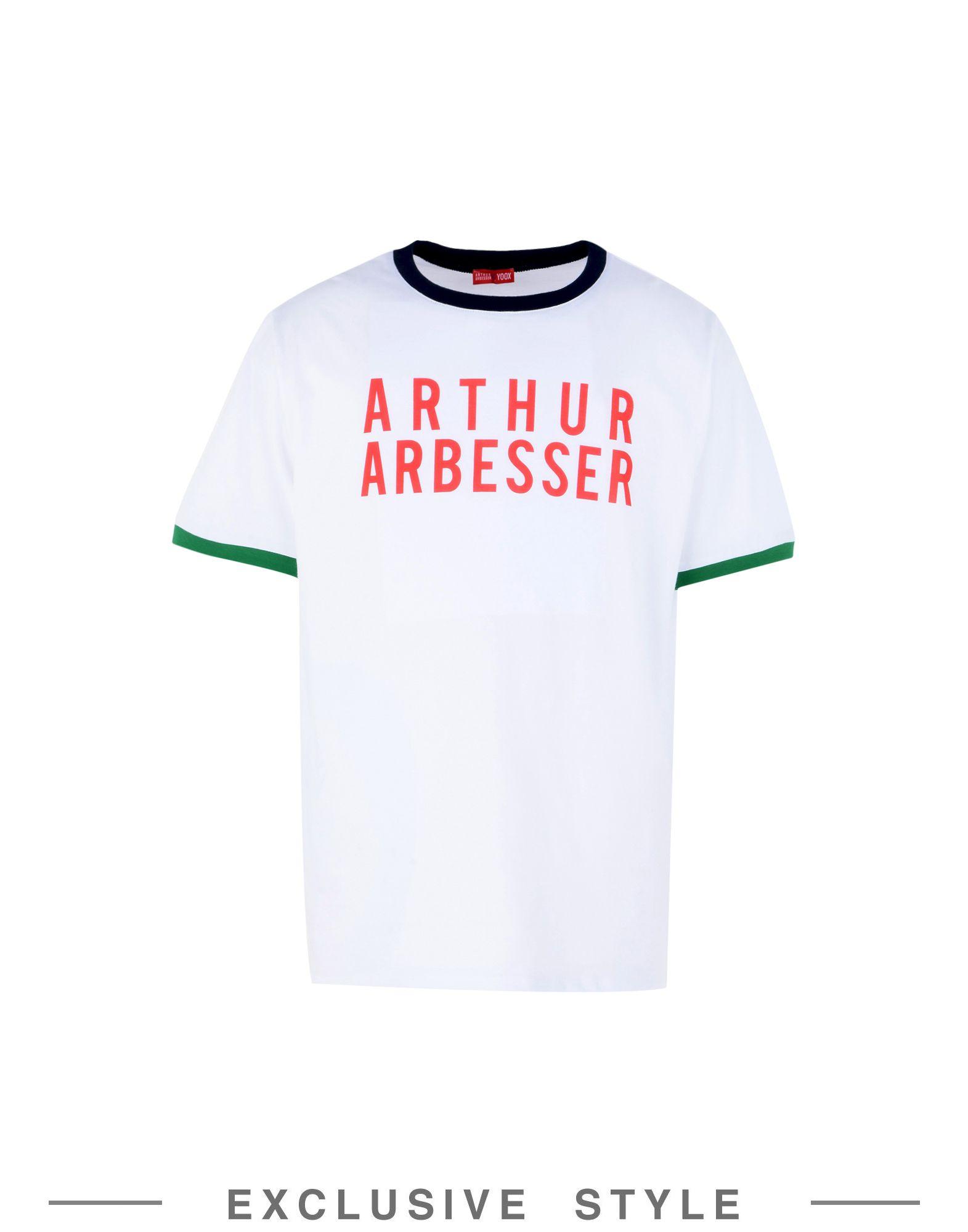 ARTHUR ARBESSER x YOOX Футболка