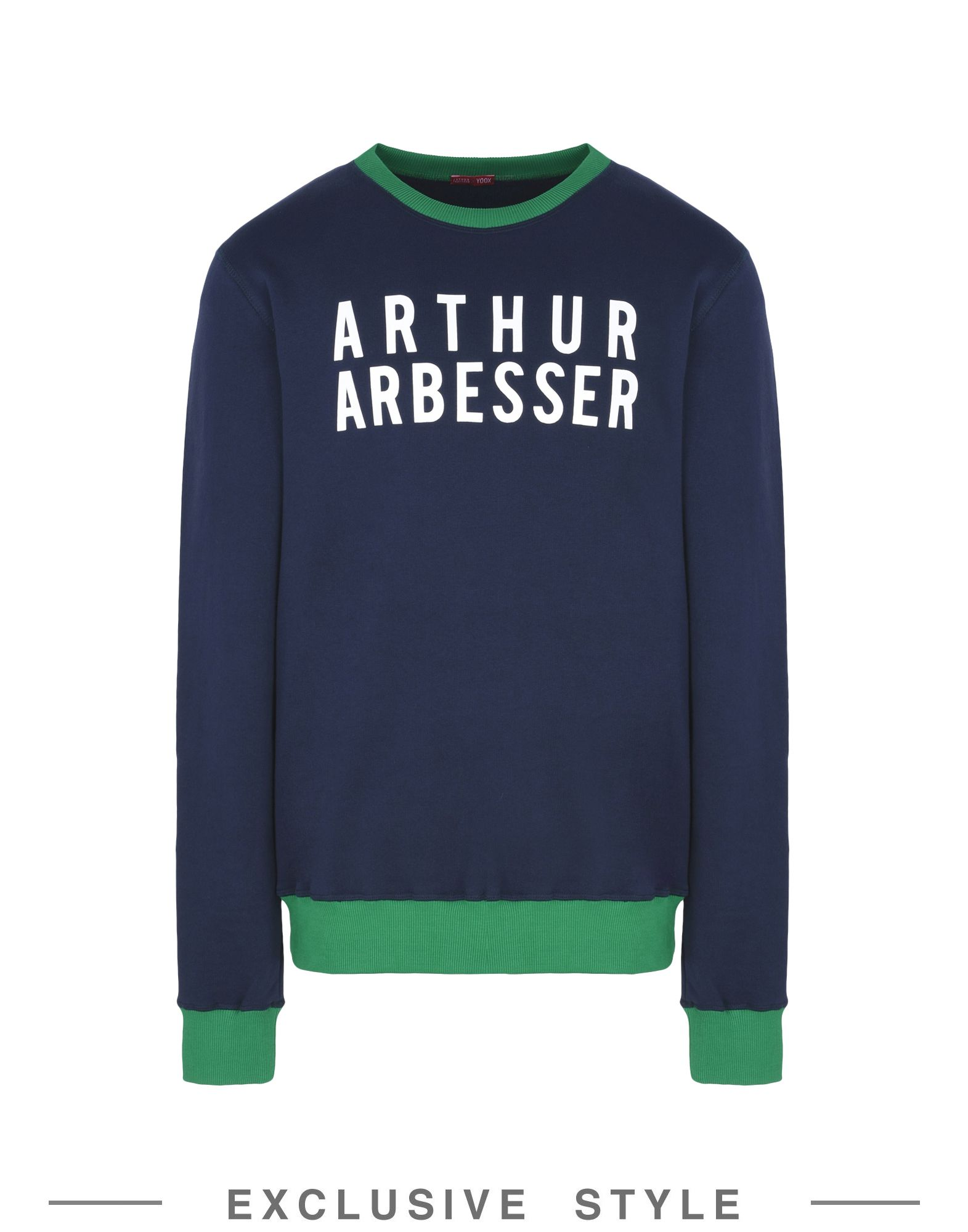 ARTHUR ARBESSER x YOOX Толстовка arthur arbesser x yoox футболка