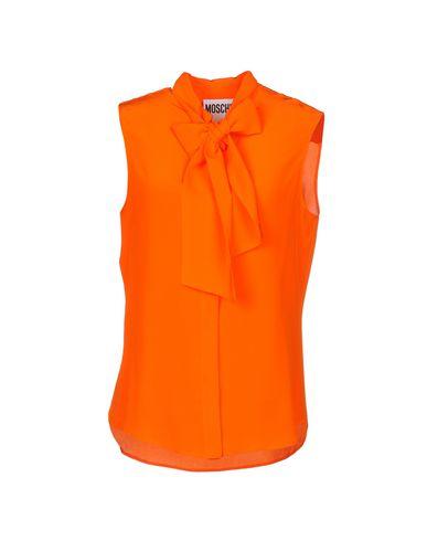 Фото - Pубашка оранжевого цвета