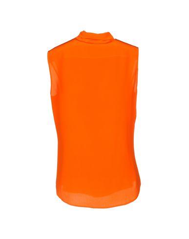 Фото 2 - Pубашка оранжевого цвета