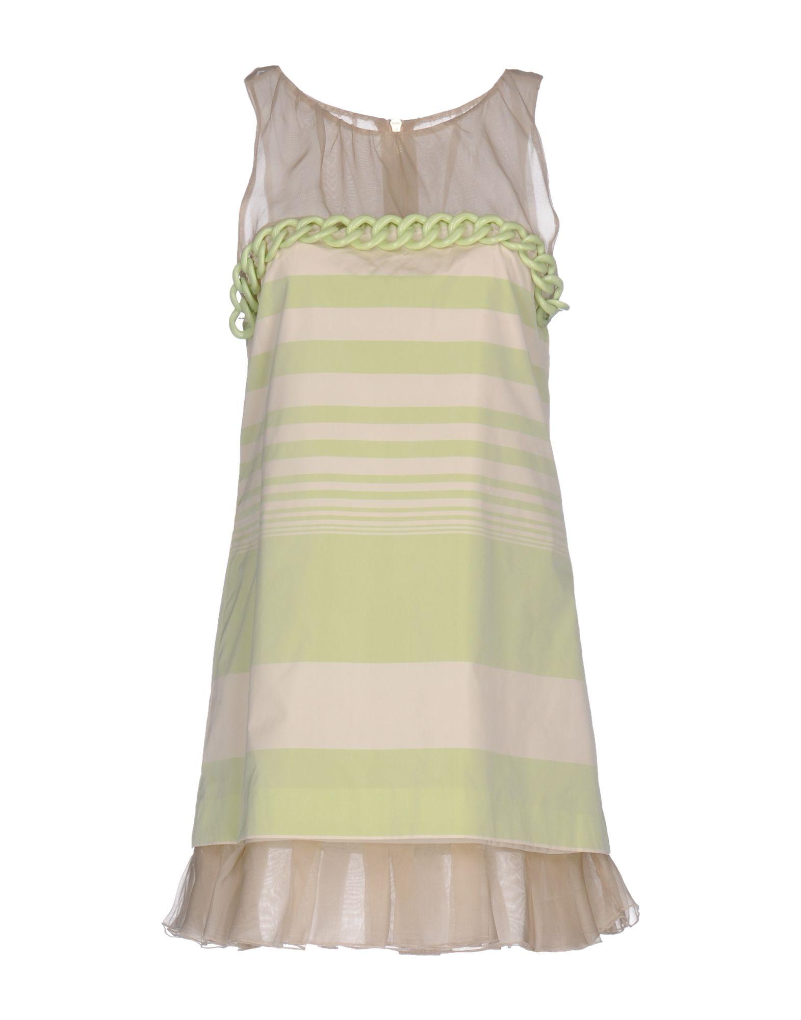 MANGANO Короткое платье lovaru ™новый 2015 мода новые печатные органза сладкий простой талии платье женщина casual платье