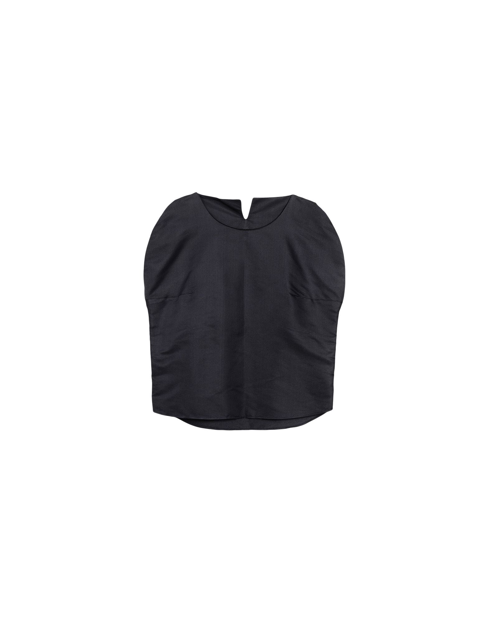 JASMIN SHOKRIAN Silk Top in Slate Blue