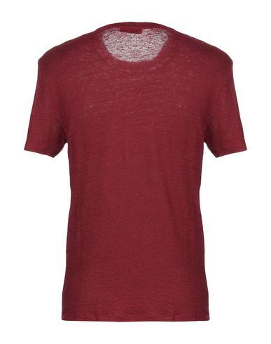 Фото 2 - Женскую футболку  красно-коричневого цвета