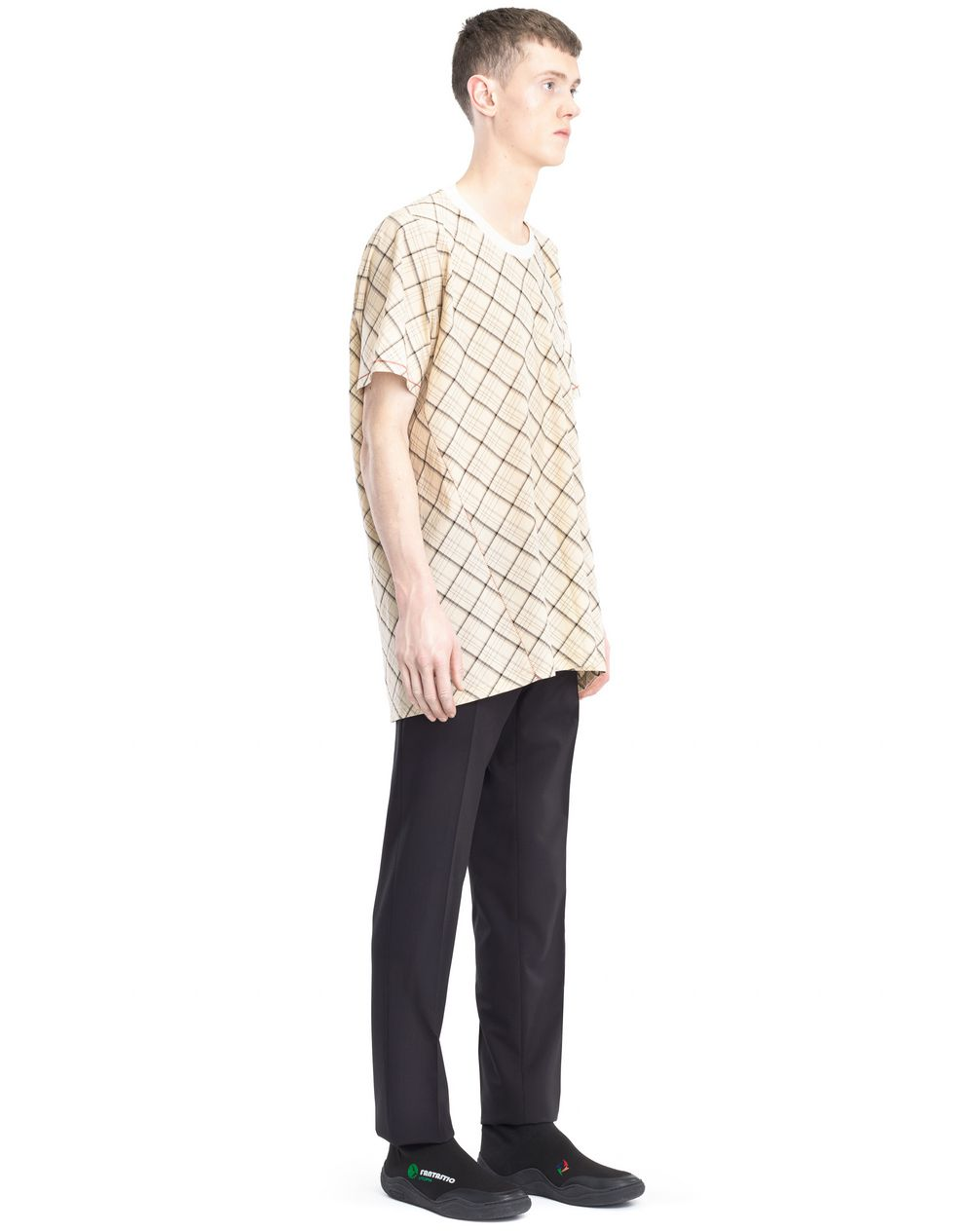 LONG PLAID T-SHIRT - Lanvin