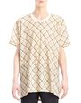 LANVIN Polos & T-Shirts Man LONG PLAID T-SHIRT f
