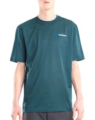 "LANVIN ポロ&Tシャツ U ""FANTASTIC UTOPIA"" Tシャツ F"
